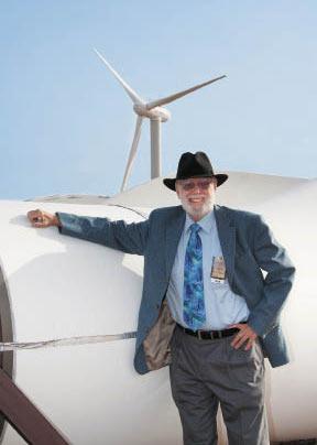 Robert Thresher, the grandfather of American wind energy