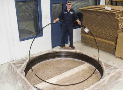 Large Retaining Rings And Wave Springs For Wind Turbines