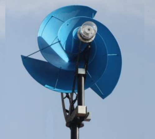 An Archimedes Vertical Axis Wind Turbine