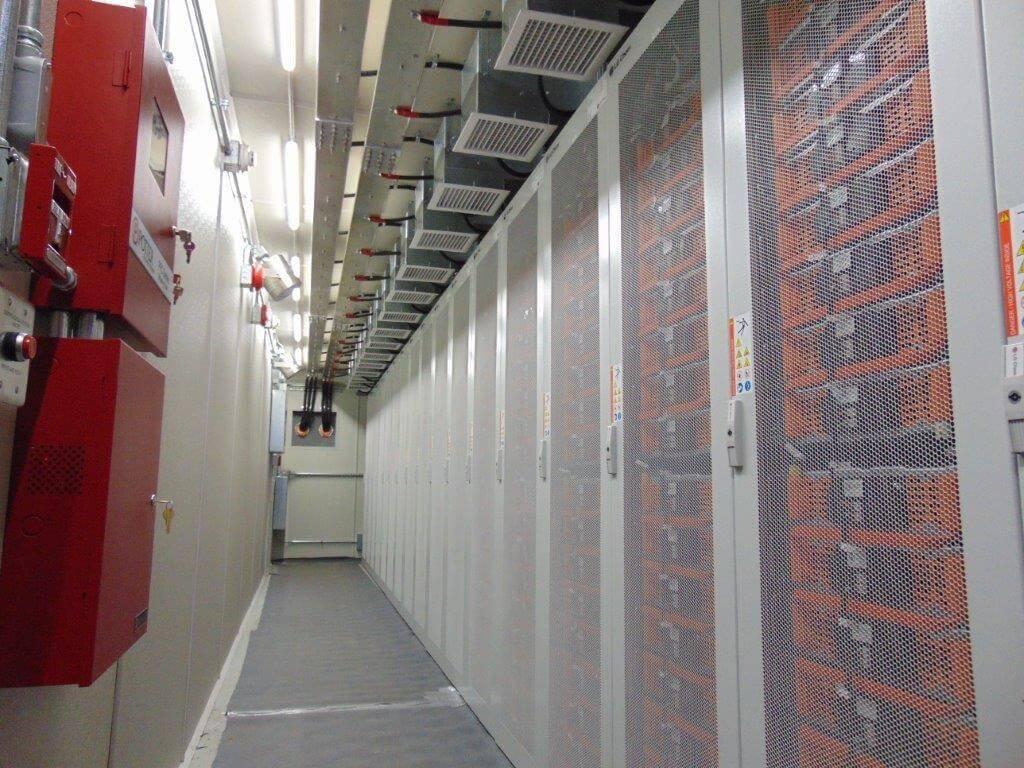 Greensmith's GEMS energy storage software platform manages the 2-MW energy storage system