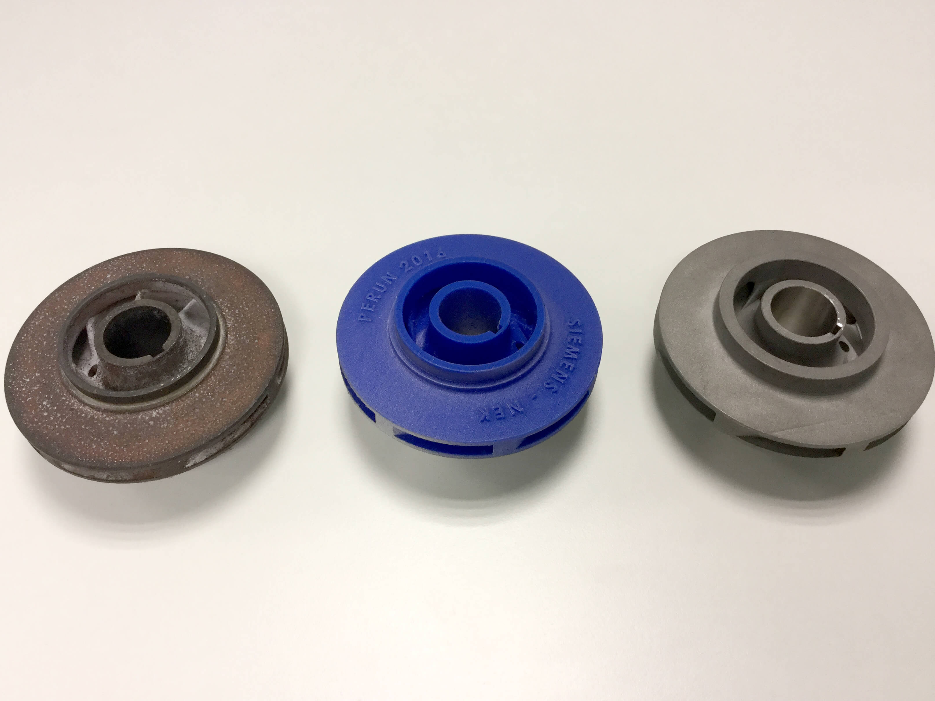 Siemens uses 3D printing to produce an impeller for a power plant