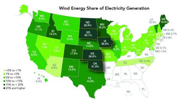 Top six wind energy trends of 2017